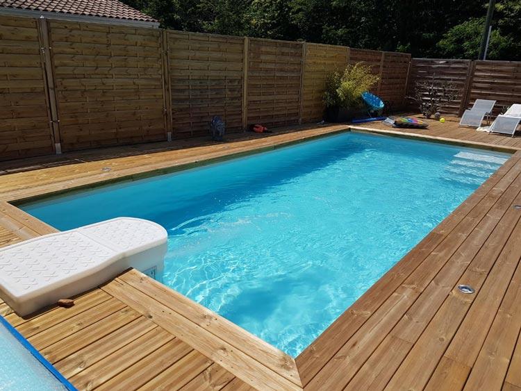 resine piscine gris clair
