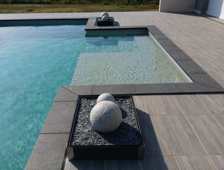 piscine résine