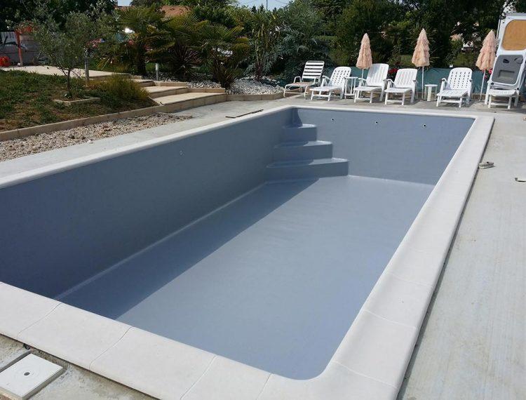 piscine résine piscine béton
