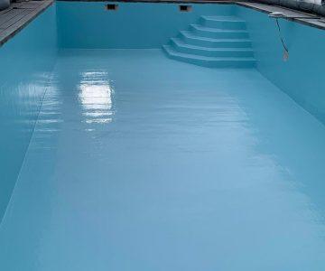 renovation résine piscine surface beton
